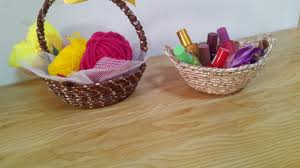 diy crafts home decor how to make an easy basket tutorial