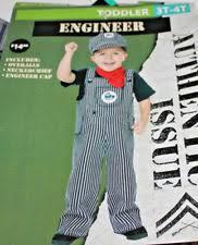 Train Conductor Halloween Costume Train Engineer Costume Ebay
