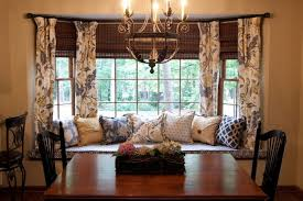 Dining Room Bay Window Treatments - window treatments for bedrooms spaces modern with bay window