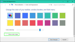 how to add custom accent colors to windows 10