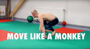 how to move like a monkey vahva fitness