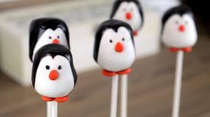 easy penguin cake pops carlytoffle youtube