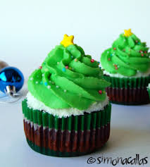 vegan christmas tree cupcakes simonacallas