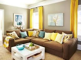 Curtains For Yellow Living Room Decor The Way To Brighten Up A Room With Yellow Curtains
