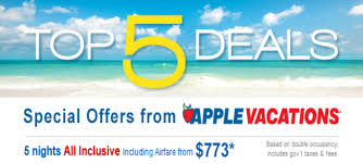 apple vacations all inclusive cozumel punta cana jamaica
