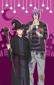 kuroko no halloween akashi seijuro and murasakibara atsushi