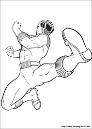 free coloring pages power rangers coloring pages