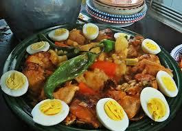 cuisine de biskra chakhchoukha de biskra la cannella de boualem