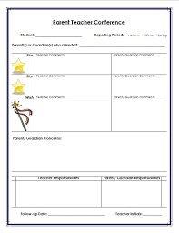 pupil report template best 25 parent conference forms ideas on