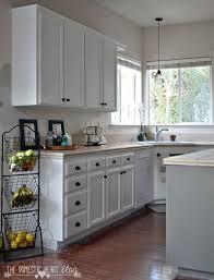 Kitchen Cabinet Update Diy Paint Kitchen Cabinets