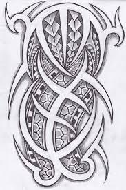 tribal tattoo design 2015