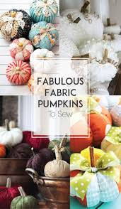 halloween fabric crafts best 25 fabric pumpkins ideas on pinterest burlap pumpkins