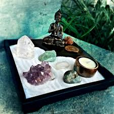 crystal zen garden from wevolve box altars and sacred spaces