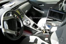 Interior Of Toyota Prius First Interior Shot Of Next Generation Toyota Prius Autospies