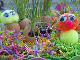 green paper easter grass play repurposed easter grass garden the outlaw