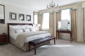 Velvet Stone Coloured Carpet In Bedroom - Cochrane bedroom furniture