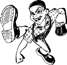 beer cartoon black and white drunk beer boy roudy fight png image pictures picpng