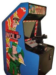 light gun arcade games for sale operation wolf videogame by taito
