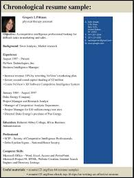 physical therapy resume objective resume template pinterest