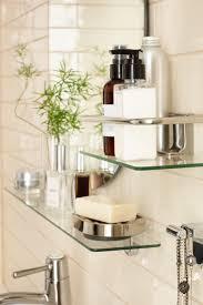 Clock For Bathroom Diy Bathroom Renovation Reveal Glass Shelves Powder Room And