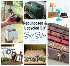diy repurposed and upcycled gift ideas for guys