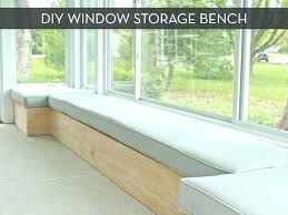 Storage Seat Bench Window Seat Bench Seat Benches With Storage View Larger Window