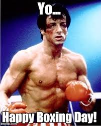 Boxing Memes - happy boxing day from your pal rocky imgflip