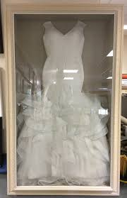 display wedding dress wedding dress frame framing guru picture framing services in