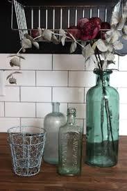 Blue Bottle Vase Vintage Glass Blue Bottle Vase By Refindphiladelphia On Etsy The