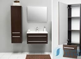 Wall Mounted Bathroom Storage Units Bathroom Cabinets Ronda Chestnut Tall Wall Mounted Bathroom