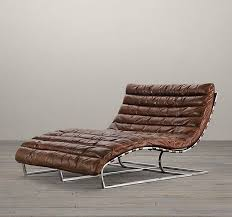 Leather Chaise Lounge Chair Modern Indoor Chaise Lounges Invite You To Lie Back And Relax