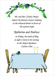 dinner party invitations dinner party wedding rehearsal dinner invitations