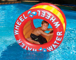 Inflatable Pool Floats by Swimline Water Wheel Inflatable Pool Toy Walmart Canada