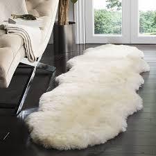 Lamb Skin Rugs Amazon Com Safavieh Sheepskin Collection Shs211a Genuine
