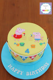George Pig Cake Decorations 111 Best Peppa Pig George Pig Birthday Cake Collection Images On