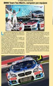 revista motor 2016 teo martin motorsports revista motor sport noviembre 2016