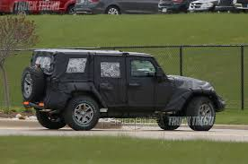 2018 jeep wrangler redesign 2018 jeep wrangler jl aluminum hood and doors rumored by