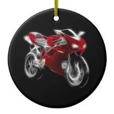 motorcycle ornaments keepsake ornaments zazzle