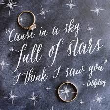 Wedding Quotes Lyrics California Wedding Inspired By Coldplay Lyrics Coldplay Lyrics
