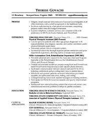 Medical Field Resume Samples Health Care Office Resume Samples U2013 Job Resume Example