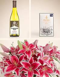 flowers wine s day gift ideas stargazer barn