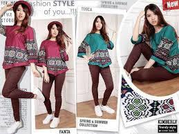 fashion terbaru fashion baju atasan wanita motif cantik modis terbaru