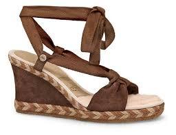 ugg womens amelia boots chocolate ugg australia amelie wedges