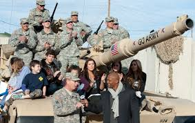 nfl thanksgiving tradition bringing the gridiron to u0027the box u0027 fort irwin soldiers families
