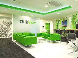 Contemporary Office Interior Design by Qliktech Office England Http Www Adelto Co Uk Contemporary