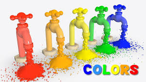learn colors for kids with colors faucet educational toys for kids