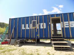 Senior Study Making a Shipping Container Home  Goddard College