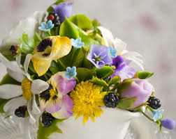 Home Decor Flower Arrangements Floral Home Decor Etsy