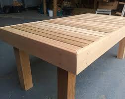 Patio Furniture Etsy UK - Cedar outdoor furniture