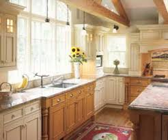 painted and stained kitchen cabinets kitchen ideas mixed cabinets with oak and painted cabinets bing
